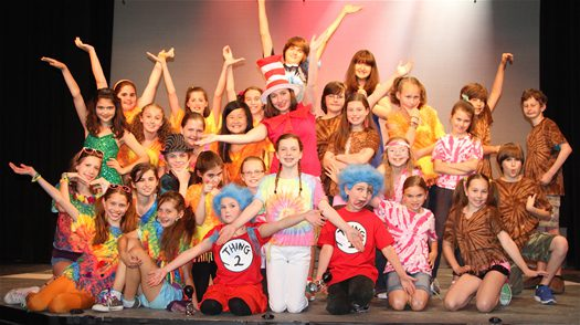 Seussical Cast 2012